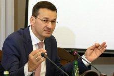 Morawiecki zastanawia się nad złagodzeniem zakazu handlu