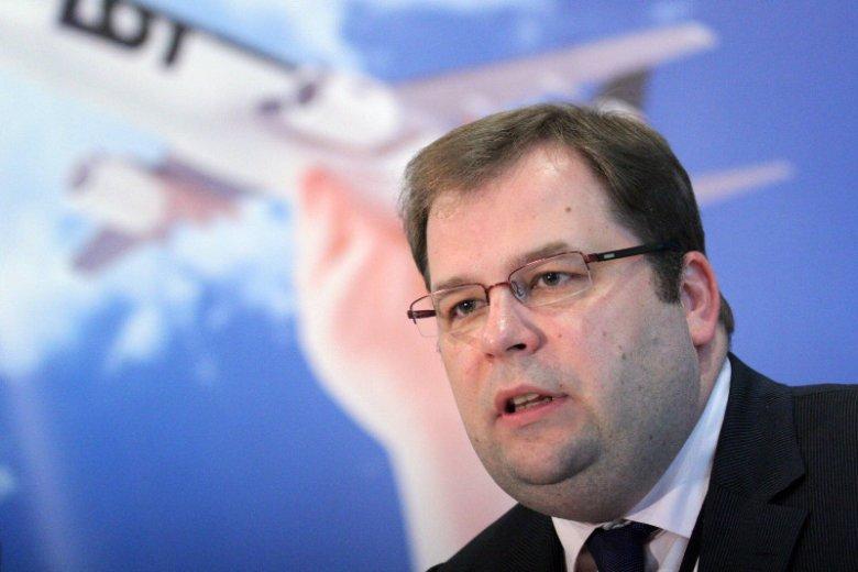 Sebastian Mikosz, dotychczasowy prezes LOT.