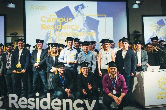 Uczestnicy pierwszej polskiej edycji programu akceleracyjnego Residency w Campus Warsaw