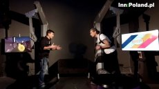 """Michał Kiciński, współtwórca CD Projektu i sukcesu gry """"Wiedźmin"""" oraz Krzysztof Majdan, redaktor naczelny INNPoland.pl. Michał Kiciński jest bohaterem cyklu wywiadów interaktywnych - Co teraz."""