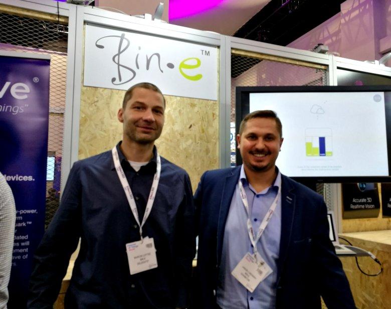 Jakub Luboński i Marcin Łotysz - twórcy Bin-e