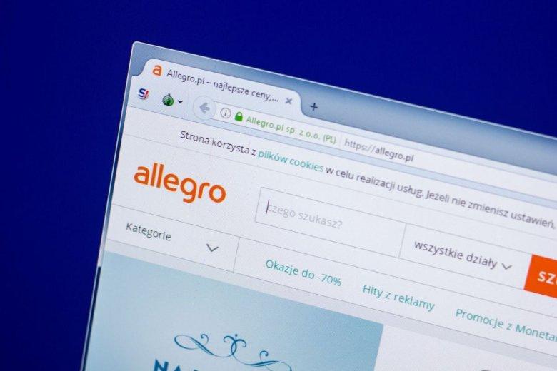 Allegro zamierza podnieść prowizję produktów w kilku kategoriach.