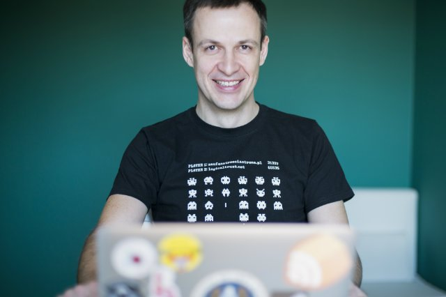 Adam Haertle, założyciel portalu zaufanatrzeciastrona.pl