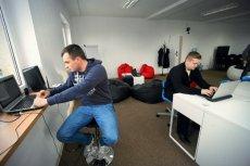 Przestrzeń coworkingowa Fundacji Rozwoju Społeczeństwa Innowacyjnego
