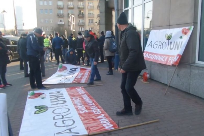 Centrum Warszawy jest już opanowane przez protestujących rolników