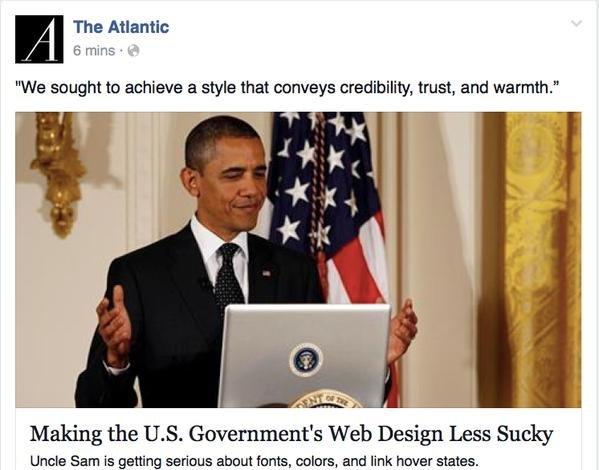 Obama o interakcjach z usługami publicznymi.