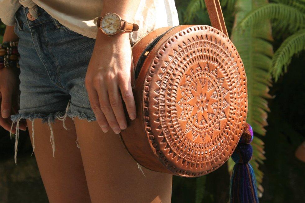 Ręcznie wykonywane skórzane torebki z Meksyku to największy hit SempreArte.