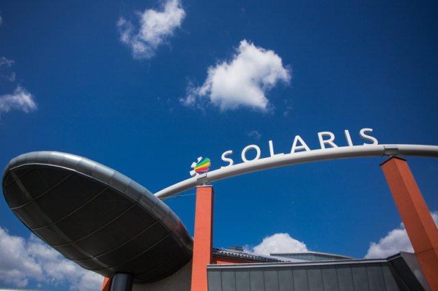 Wejście do Narodowego Centrum Promieniowania Synchrotronowego Solaris, gdzie znajduje się synchrotron.
