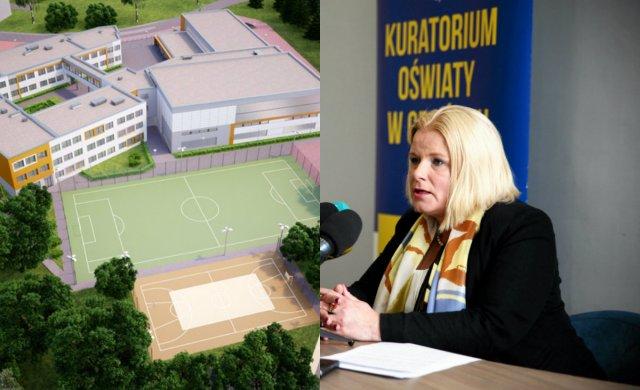 Monika Kończyk chce zamknięcia szkoły