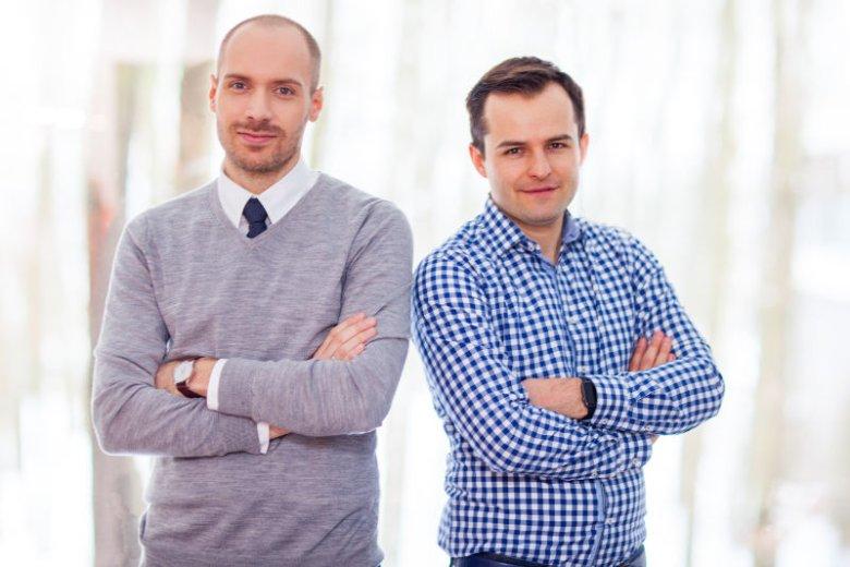 Dr Łukasz Kołtowski i Piotr Bajtał poznali się, bo ten pierwszy pomagał drugiemu w stworzeniu aplikacji dla nadciśnieniowców.