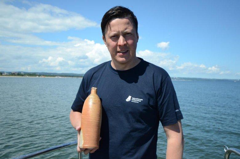 Tomasz Bednarz, archeolog podwodny odpowiedzialny za projekt wirtualnego skansenu wraków.