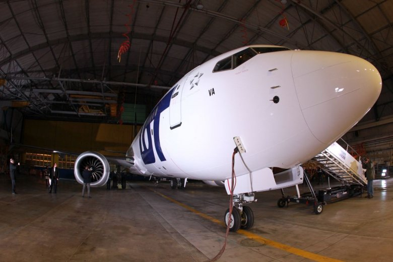 Boeingi 737 Max latały także we flocie LOT-u