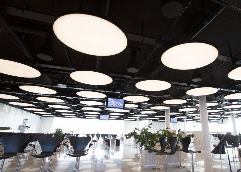 Oświetlenie LUG Light Factory - Lotnisko w Kopenhadze