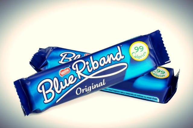 Wafelek Blue Riband.