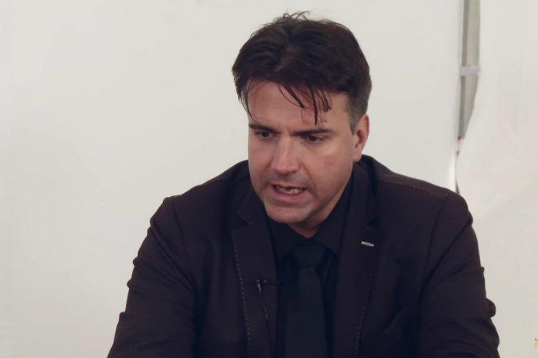 Szef Polskiej Agencji Kosmicznej, Grzegorz Brona.