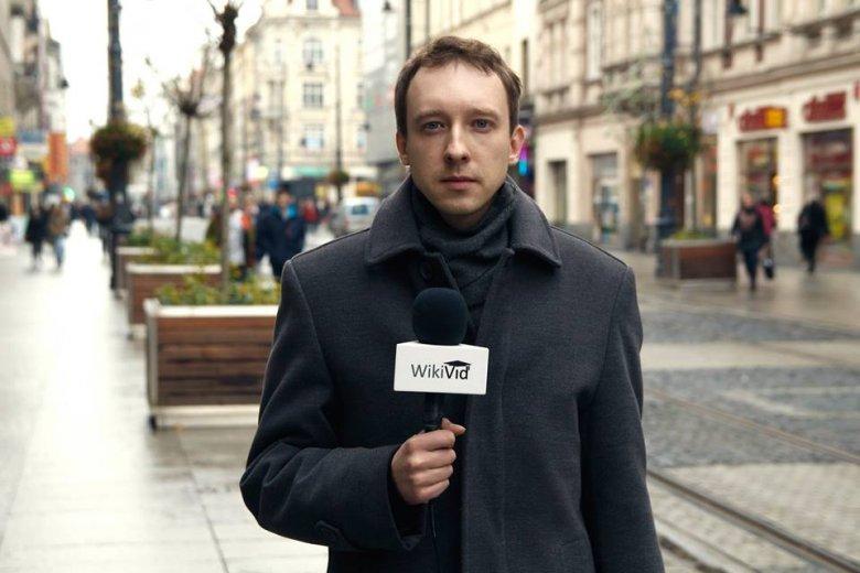 Norbert Oruba - rzecznik prasowy WikiVid