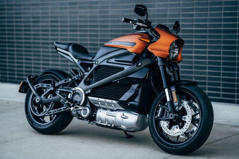 LiveWire - wygląd. Nie przypomina dawnych pojazdów Harleya Davidsona.