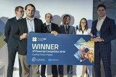 Finał krajowy PowerUp! by InnoEnergy 2018. Pierwsze miejsce zajął Indoorway, start-up z Warszawy, projektujący narzędzie do digitalizacji przestrzeni w miejscu pracy