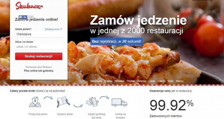 Tak wygląda teraz portal skubacz.pl