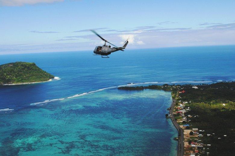 Wyspa Tokelau zależna jest od Nowej Zelandii.