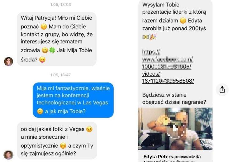 """Marcin """"złowił"""" mnie na Facebooku. Nawet nie sprawdził, gdzie pracuję, a taką informację mam na swoim profilu."""
