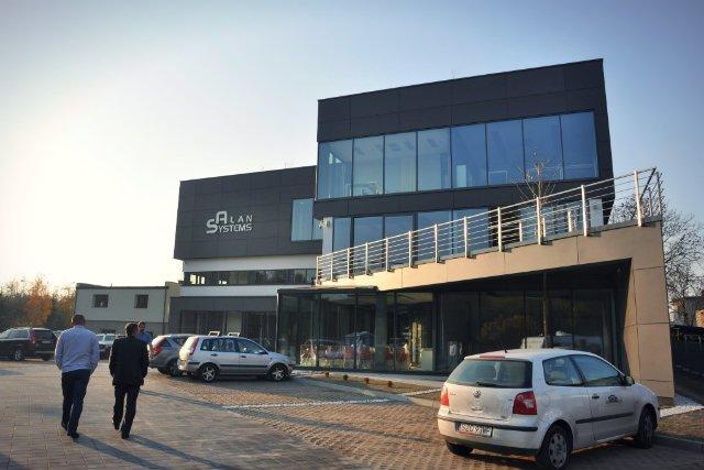 Wybudowana w 2011 roku siedziba ALAN Systems