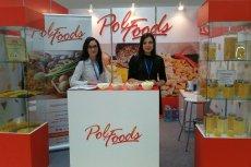 Stoisko Pol-Foods na targach snacków. Polski producent jest jednym z największych w Europie, z jego półproduktów korzysta się na całym świecie