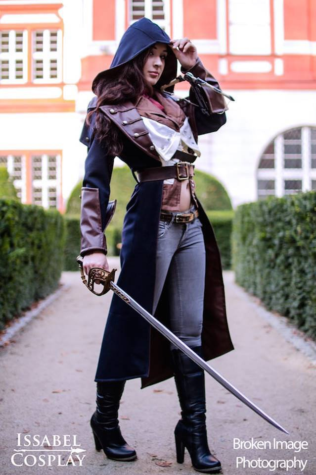 Cosplay dla Assassins Creed.