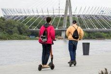 Elektryczne hulajnogi zostaną prawnie zrównane z rowerami. Ale jazda na nich po alkoholu może być uznana za przestępstwo, a nie wykroczenie