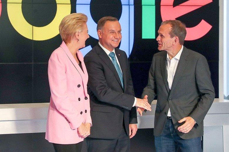 Andrzej Duda spotkał się w Dolinie Krzemowej z szefostwem Google'a.