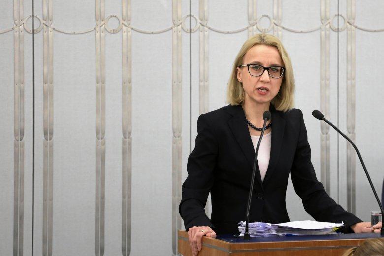 Minister Finansów Teresa Czerwińska uważa, że niski deficyt to zasługa dyscypliny fiskalnej rządu.