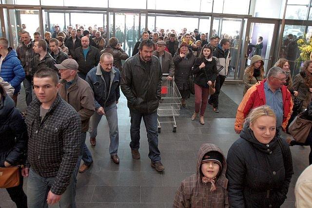 Otwarcie galerii handlowej Atrium Felicity w Lublinie (marzec 2014)