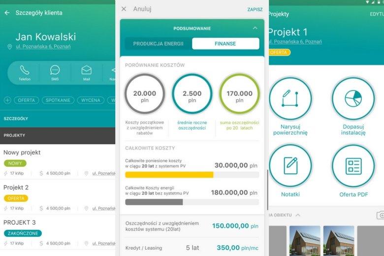 Aplikacja EasySolar ma ułatwiać życie instalatorom i przedstawicielom handlowym firm z branży solarnej.