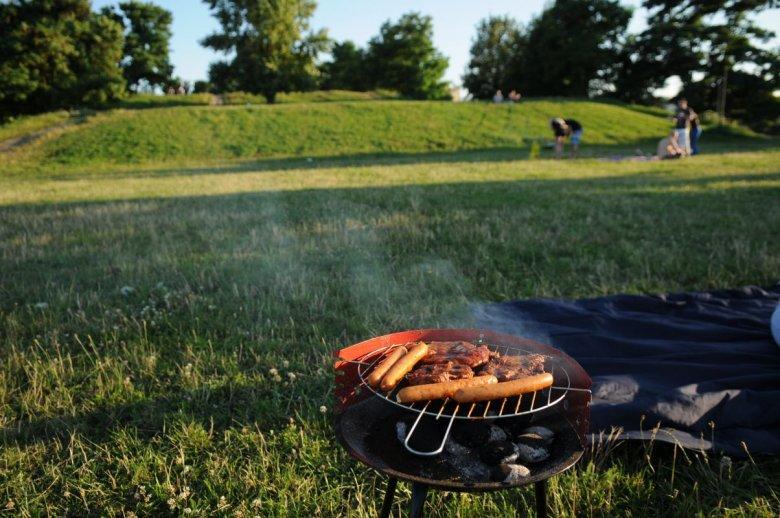 Grill w parku w określonych warunkach może zakończyć się karą