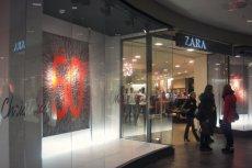Jeden z polskich sklepów Zary