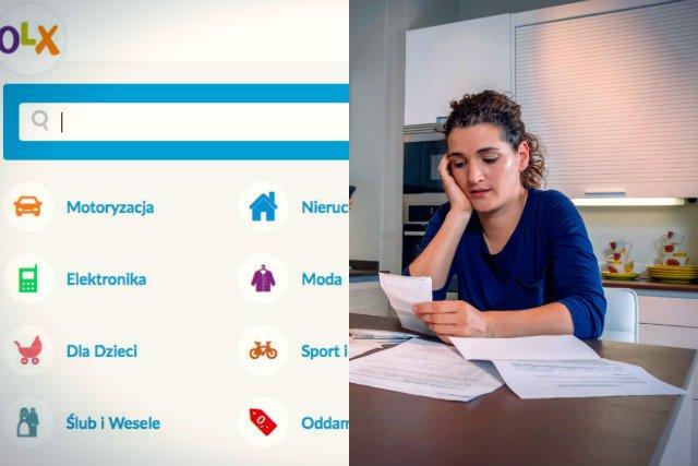 Zarejestrowanych klientów serwisu OLX, jednej z największych platform handlowych w Polsce, spotkała bardzo nieprzyjemna niespodzianka