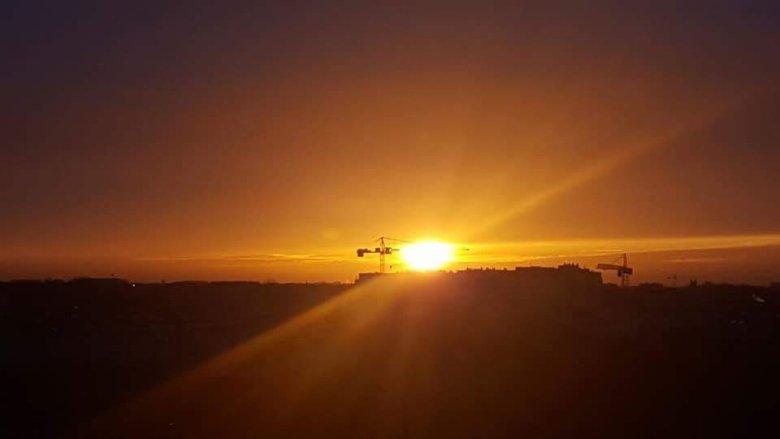 Wschody i zachody słońca oglądane z takiej wysokości są zachwycające
