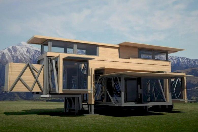 Domy Ten Fold Engineering mogą być odpowiedzią na potrzeby ofiar klęsk żywiołowych.