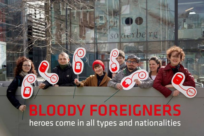 Akcja Bloody Foreigners