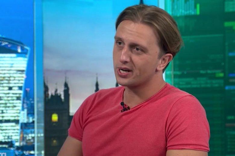 Nikołaj Storoński, jeden z współtwórców aplikacji Revolut. Firma ma kłopoty wizerunkowe.