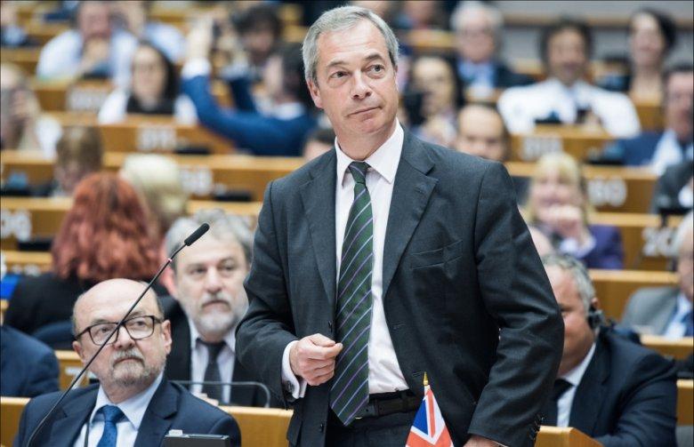 Nigel Farage, lider Partii Niepodległości Zjednoczonego Królestwa. Fot. European Parliament