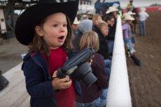 5-letni Hawkeye Huey, najmłodszy w historii fotograf National Geographic.
