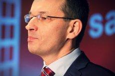 Wicepremier Morawiecki twierdzi, że dzięki niemu w budżecie jest 6 mld zł więcej. Po te pieniądze ustawiła się już kolejka chętnych