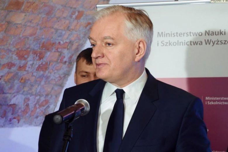 Minister Jarosław Gowin ogłasza otwarcie naboru firm do programu POIR 1.1.1