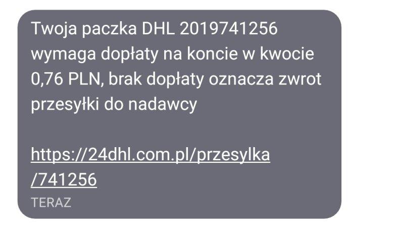 SMSy od oszustów coraz częściej trafiają na telefony Polaków