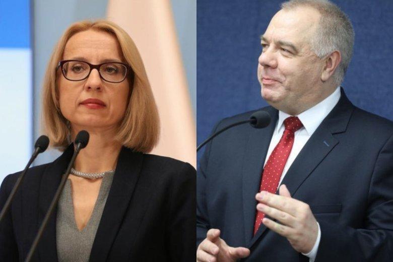 """Jacek Sasin, nowy wicepremier, zapowiedział, że plan zmiany matrycy VAT-owskiej, wymyślony przez byłą minister finansów Teresę Czerwińską, wymaga """"doprecyzowania""""."""