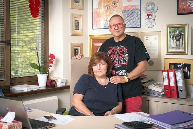 Jurek Owsiak zawsze ma obok siebie żonę, zwaną przez niego Dzidzią