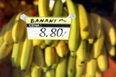 Polskie banany może nie mają jadalnych skórek, są za to znacznie tańsze