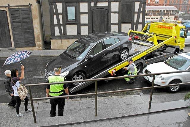 Stawki za odholowanie pojazdu idą w górę