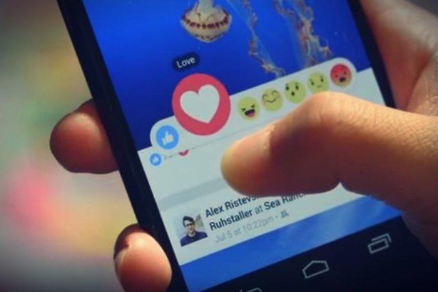 """Facebook uruchomił dziś długo zapowiadane nowe funkcje, dzięki którym można wyrazić nowe emocje, oprócz tradycyjnego """"lubię to"""""""